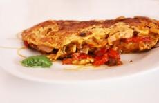 Omelette_poivron_jambon